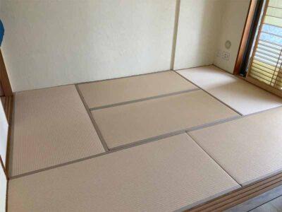 S様邸 施工後の和紙畳