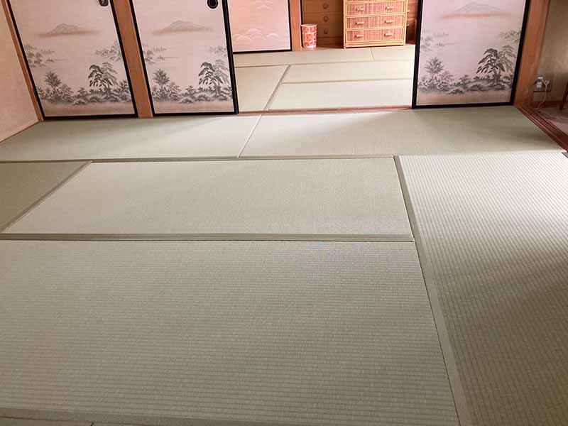 尾張旭市K様邸 施工後の和紙畳